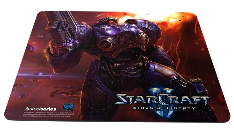 SteelSeries QcK Limited Edition (StarCraft II Tychus Findlay)